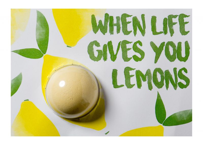 Felicitare When Life Gives You Lemons, Bomb Cosmetics